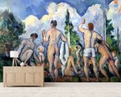 The Bathers, c.1890-92 (oil on canvas) wall mural living room preview