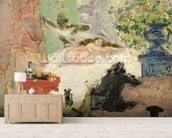 A Modern Olympia, 1873-74 (oil on canvas) wall mural living room preview