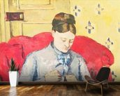 Madame Cezanne sewing mural wallpaper kitchen preview