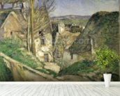 The House of the Hanged Man, Auvers-sur-Oise, 1873 (oil on canvas) (for details see 67878 & 67879) wall mural in-room view