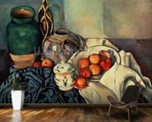 Still Life with Apples, 1893-94 (oil on canvas) wall mural kitchen preview