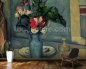 The Blue Vase, 1889-90 (oil on canvas) wallpaper mural kitchen preview