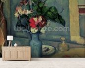 The Blue Vase, 1889-90 (oil on canvas) wallpaper mural living room preview