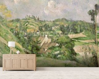 Auvers-sur Wall Mural Wallpaper Wallpaper Wall Murals