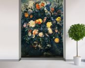 Vase of Flowers, 19th (oil on canvas) mural wallpaper in-room view