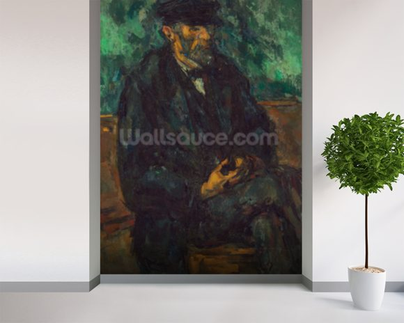 The Gardener Vallier, c.1905 (oil on canvas) wall mural room setting