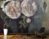 Flowers in a Blue Vase, c.1886 (oil on canvas) wall mural kitchen preview