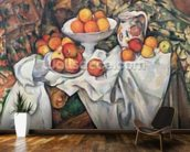 Apples and Oranges, 1895-1900 (oil on canvas) wall mural kitchen preview