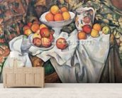 Apples and Oranges, 1895-1900 (oil on canvas) wall mural living room preview