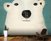 The Polar Bear mural wallpaper kitchen preview