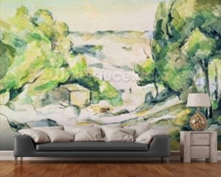 Countryside in Provence Wallpaper Wall Murals