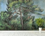 The Large Pine, c.1889 (oil on canvas) wall mural in-room view