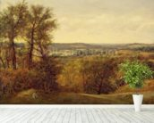 Dedham Vale, c.1802 (oil on canvas) wall mural in-room view