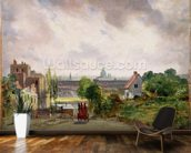 Sir Richard Steeles Cottage, Hampstead, c.1832 (oil on canvas) wall mural kitchen preview