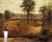A Lane near Dedham, c.1802 (oil on canvas) wall mural kitchen preview