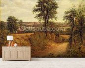 A Lane near Dedham, c.1802 (oil on canvas) wall mural living room preview