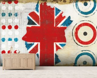 British Invasion I wallpaper mural
