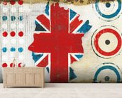 British Invasion I wallpaper mural living room preview