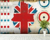British Invasion I wallpaper mural in-room view