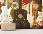 Rock n Roll Fantasy wall mural living room preview