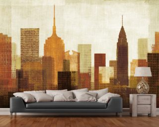 Summer in the City I wall mural