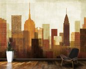 Summer in the City I wall mural kitchen preview
