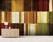 Spice Patches I wallpaper mural living room preview