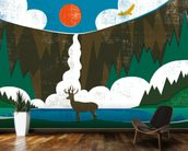 Big Sky II Horizontal wall mural kitchen preview
