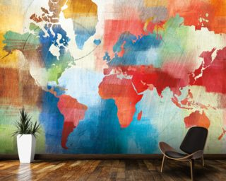 Seasons Change Abstract Wallpaper Wall Murals