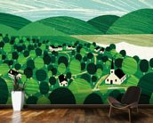 Vermont wallpaper mural kitchen preview