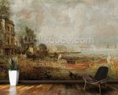 The Opening of Waterloo Bridge, c.1829-31 (oil on canvas) wall mural kitchen preview