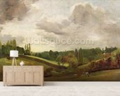 View of East Bergholt, c.1813 (oil on canvas) wall mural living room preview