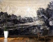 A Dell, c.1805 (black chalk on buff paper) wallpaper mural kitchen preview