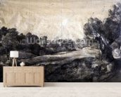 A Dell, c.1805 (black chalk on buff paper) wallpaper mural living room preview