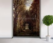 The Cenotaph to Reynolds Memory, Coleorton, c.1833 (oil on canvas) mural wallpaper in-room view