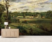 View of Highgate from Hampstead Heath, c.1834 (oil on cardboard) wall mural living room preview
