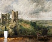 Hadleigh Castle, 1829 (oil on canvas) wallpaper mural kitchen preview
