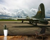 B17 Flying Fortress wallpaper mural kitchen preview