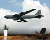 B52 Bomber wall mural kitchen preview