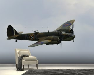 Bristol Blenheim wallpaper mural