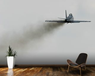 F-86 Sabre Dirty Air mural wallpaper