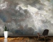 Cloud Study, 1821 (oil on paper laid down on paper) mural wallpaper kitchen preview