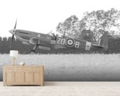 Spitfire Final Checks wall mural living room preview