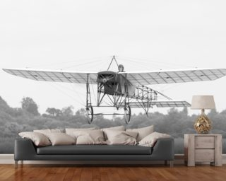 The Early Days of Flight Wallpaper Mural Wall Murals Wallpaper