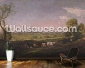 Dedham Vale: Morning, c.1811 mural wallpaper kitchen preview