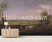 Dedham Vale: Morning, c.1811 mural wallpaper living room preview