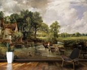 The Hay Wain, 1821 (oil on canvas) wall mural kitchen preview