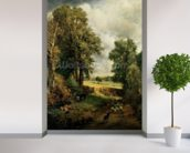 The Cornfield, 1826 (oil on canvas) wallpaper mural in-room view