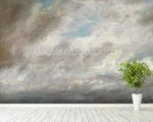 Cloud Study, c.1821 (oil on paper laid on card) wall mural in-room view