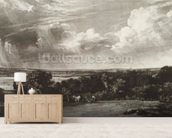 Summerland, engraved by David Lucas (1802-81) (mezzotint) wall mural living room preview